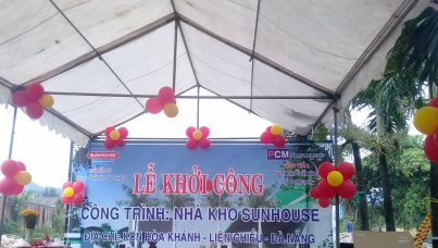 开始在岘港建造太阳房
